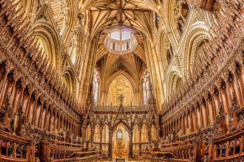 Ely Catherdral Choir & Presbytery