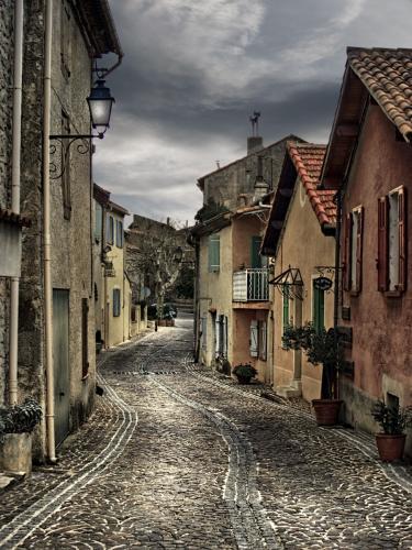 Cobbled Street Mimet Provence