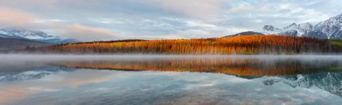 Patricia Lake Panorama