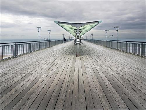 On Boscombe Pier