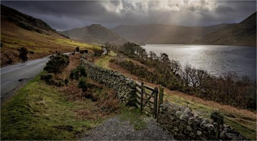 Last Light at Crummock Water - Steve Laws