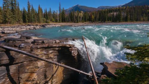 Athabasca Falls - Brian Sibley
