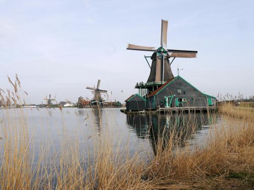 Zaane Schans Windmills Holland