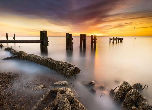 Sunrise at Bawdsey