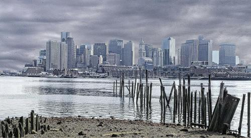 Boston from Clipper Quay