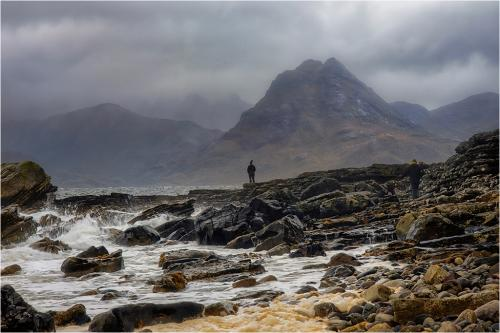 A Stormy Day at Elgol