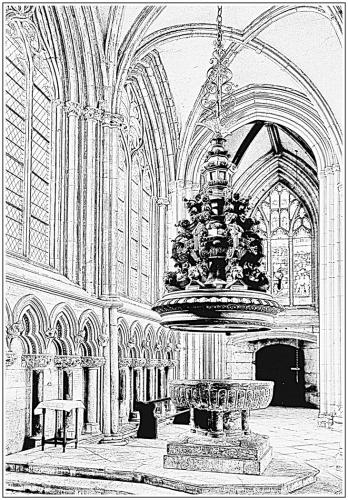 Font Cover, Beverley Minster