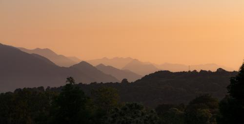 Evening Light Over The Pyrenees