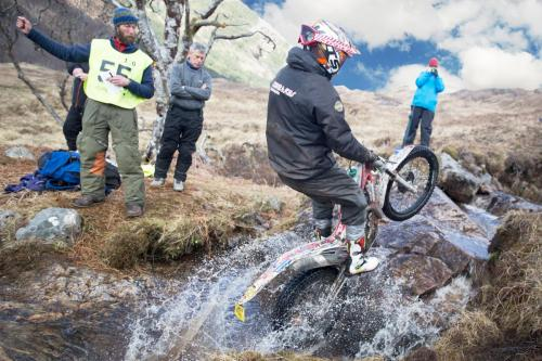 Alexz Wigg  Scottish 6 Day Trial