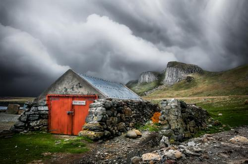 Old Shed Staffin