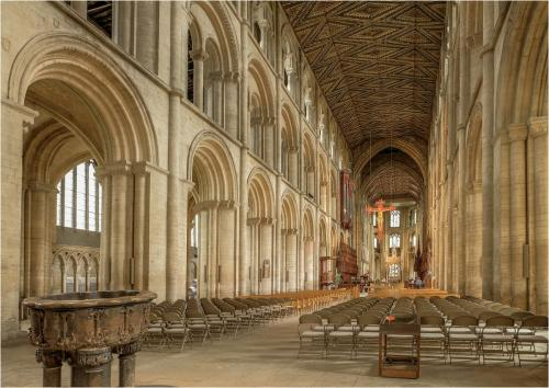 The Nave Peterborough Cathedral