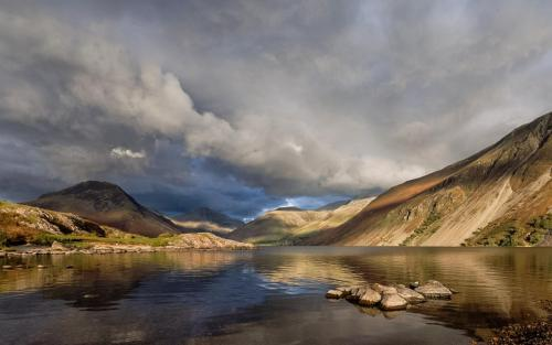 Light Over Wast Water
