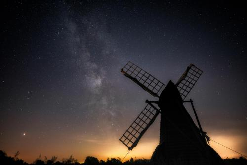 Milky Way over Wicken Fen