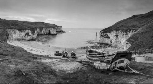 Fishing Boats at North Landing - Flamborough