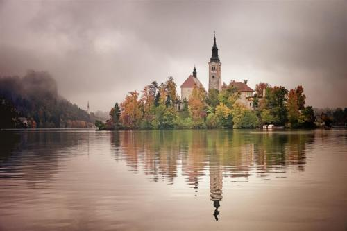 Island Church, Lake Bled, Slovenia