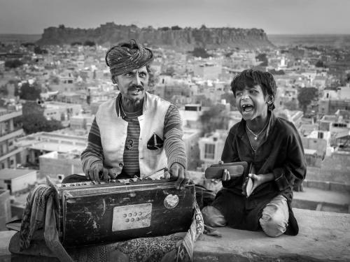 Street Musicians, India