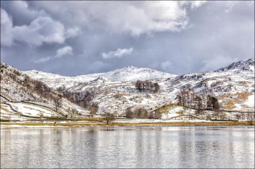 Blea Tarn in Winter
