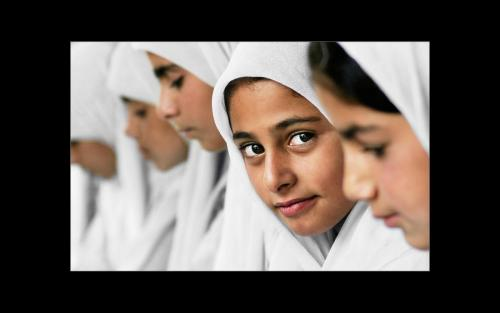 School Girls Kashmir
