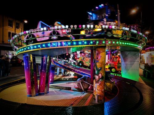 Debbie Hall_Fairground Ride_1