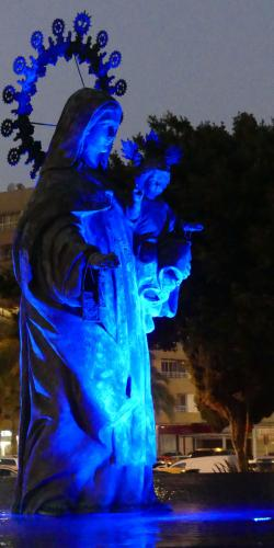 Graham Davey_Blue Statue