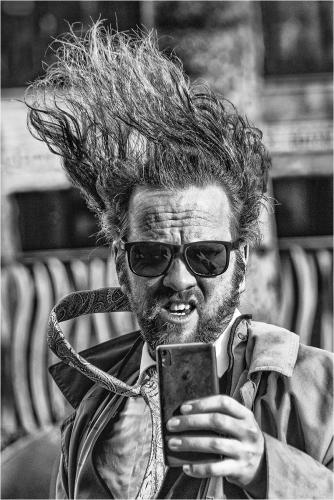 Ivan Barrett_Bad Hair Day, Selfie