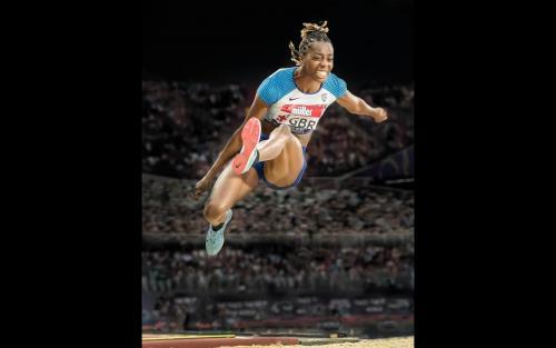 Lorraine Ugen Long Jump