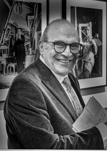 People_Tony Cole_David Suchet at his photo exhibition