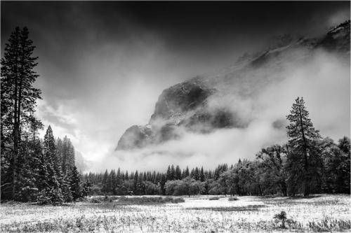 Snow Storm, Yosemite