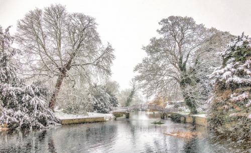 Godmanchester Snow