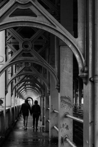 Stephen Hardy_Walking The Iron Bridge
