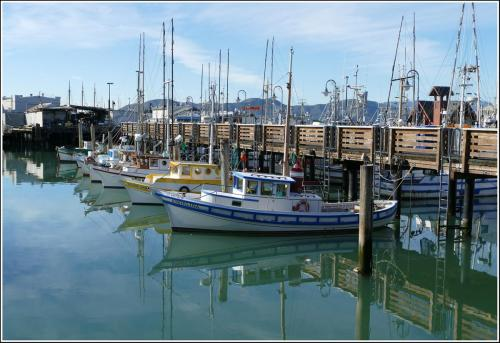 Fishrrermans Wharf San Francisco - Stan Mace