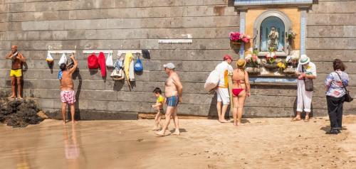 The beach shrine