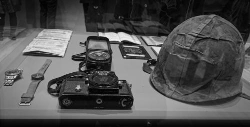 Tony Cole-Don McCullins  field equipment